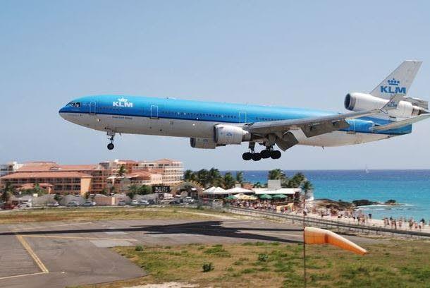St Martin Airplane Beach