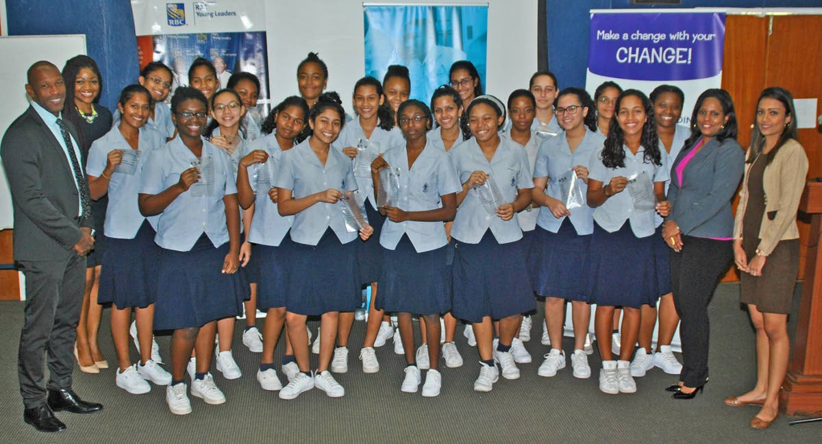 Rbc aims to make big change with small change trinidad - St joseph convent port of spain trinidad ...