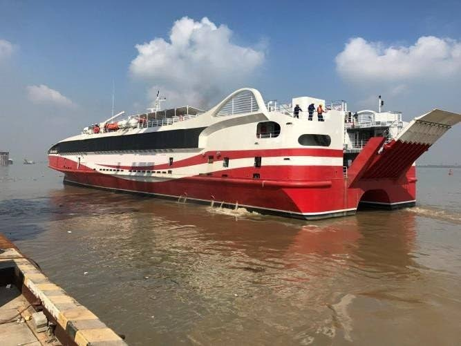 Austal to build 94 m fast ferry for Trinidad and Tobago ... |Trinidad And Tobago Ferries