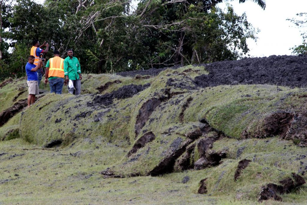 Volcanic activity reported at Devil's Woodyard, three homes evacuated