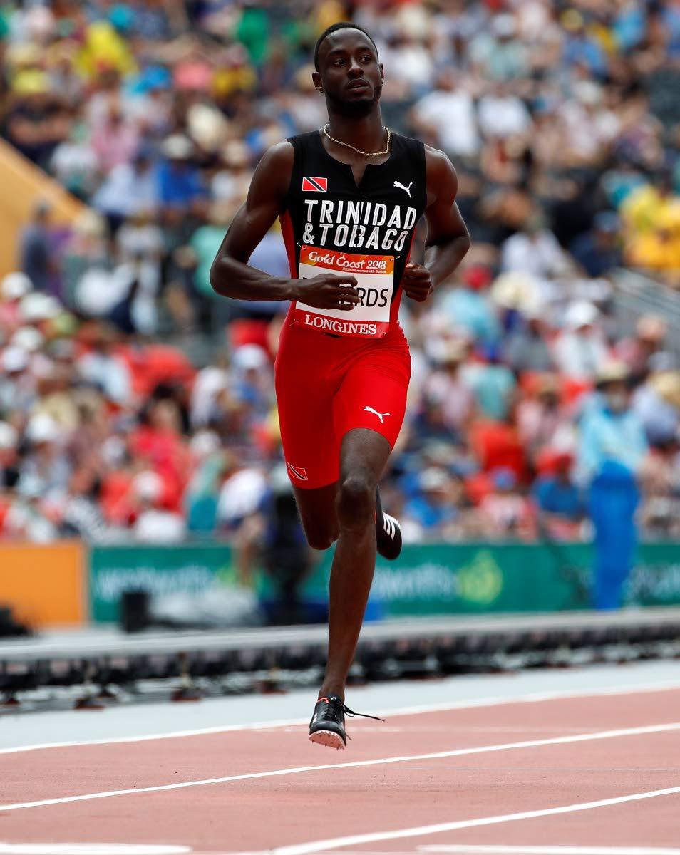 Jereem Richards cruises to Gold in Men's 200m final