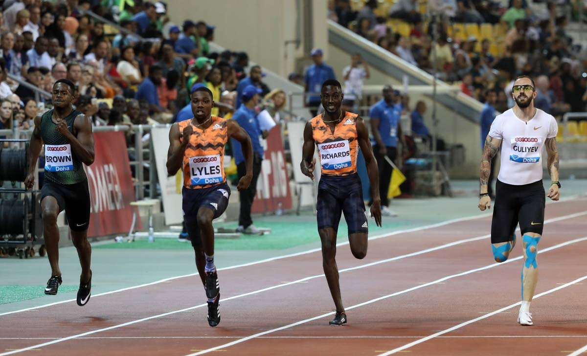 Semenya storms to victory in Doha Diamond League meet