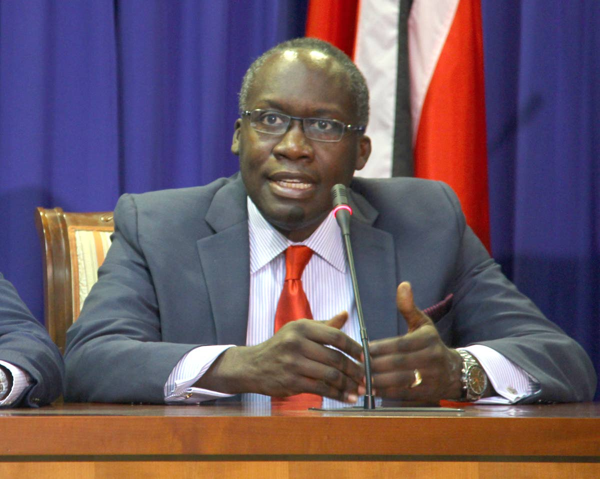 Communications Minister Maxie Cuffie.