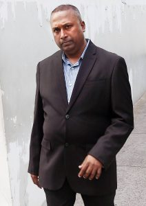 OCNU Police Inspector Darryl Ramdass appeared before a PoS magistrate court on fraud and possession of exotic animals charges.