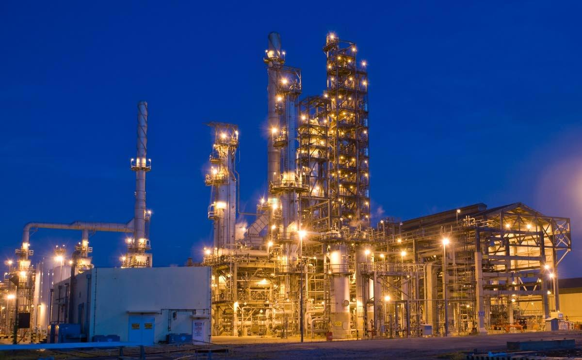 Petrotrin's refinery in Pointe-a-Pierre