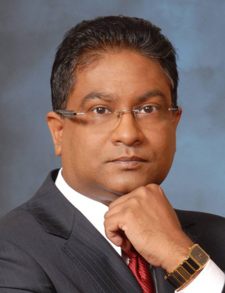 Former Central Bank Governor Jwala Rambarran.