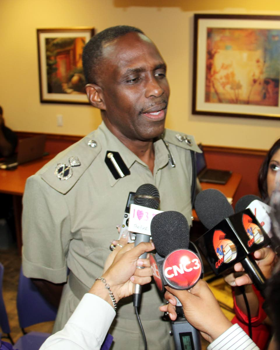 Acting Commissioner of Police, Harold Phillip.