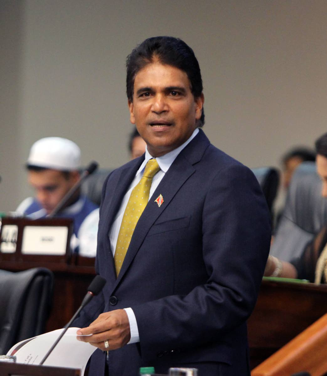 Opposition MP Roodal Moonilal