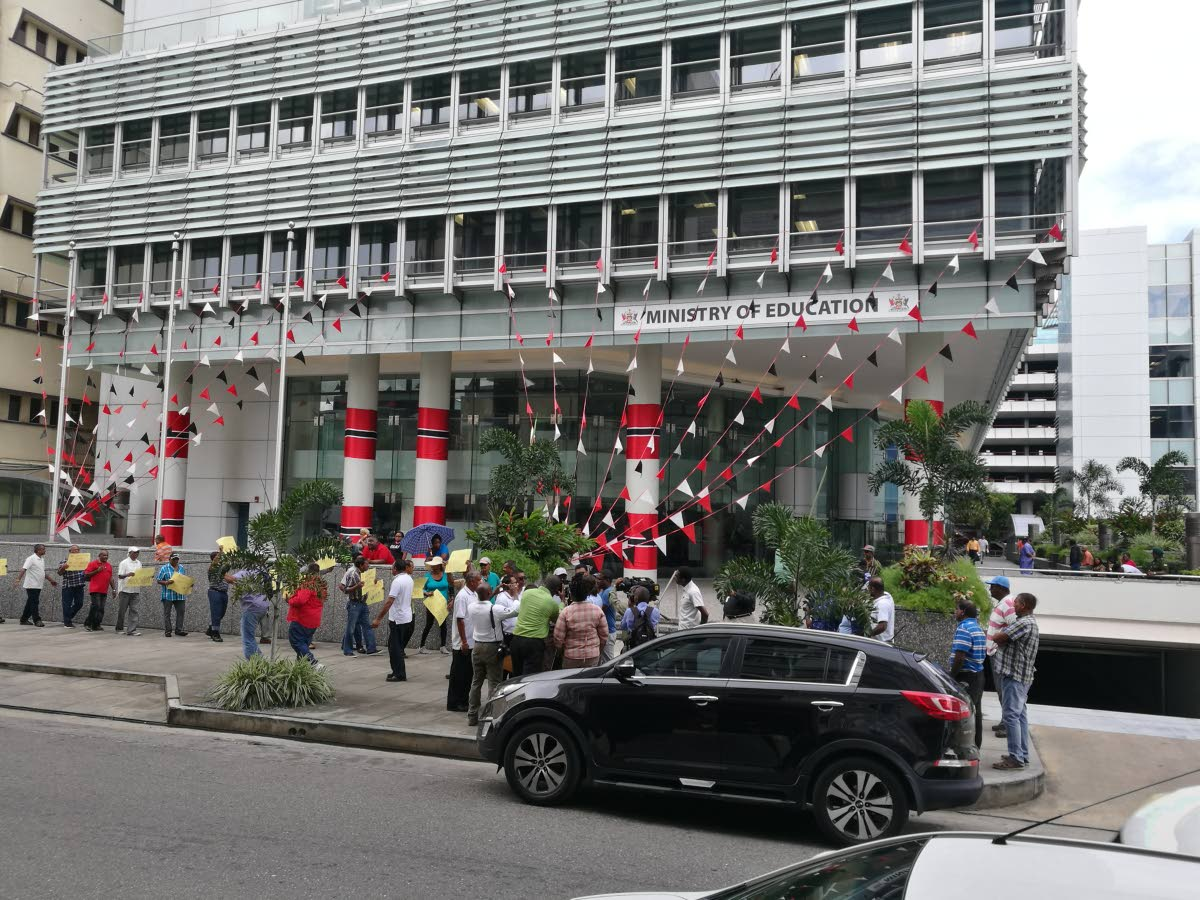The Ministry of Education building