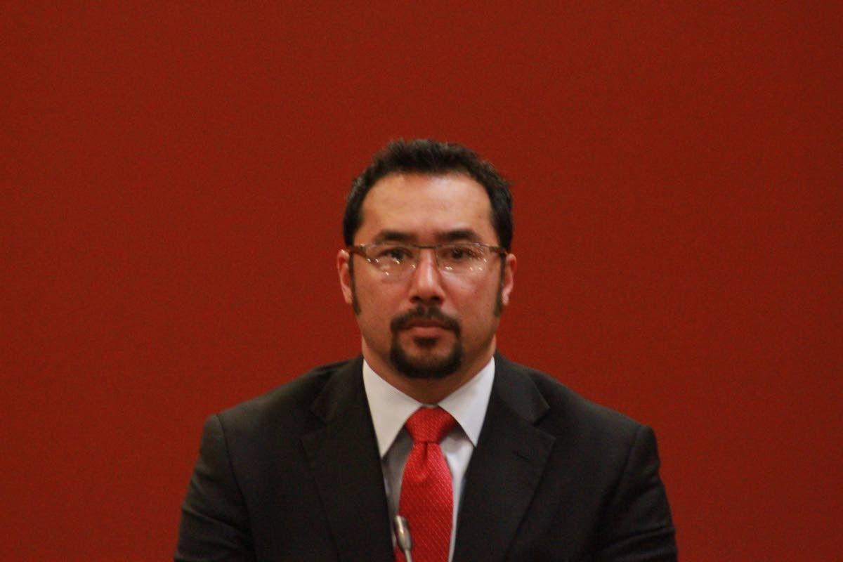 Minister Stuart Young