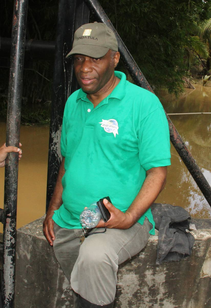 San Juan Laventille Regional Corporation chairman Anthony Roberts