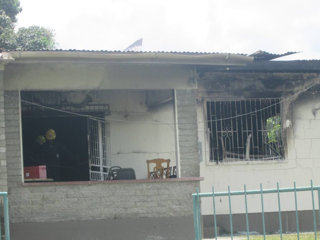 The building which houses the Family First Foundation in Calder Hall was gutted by fire last Friday.