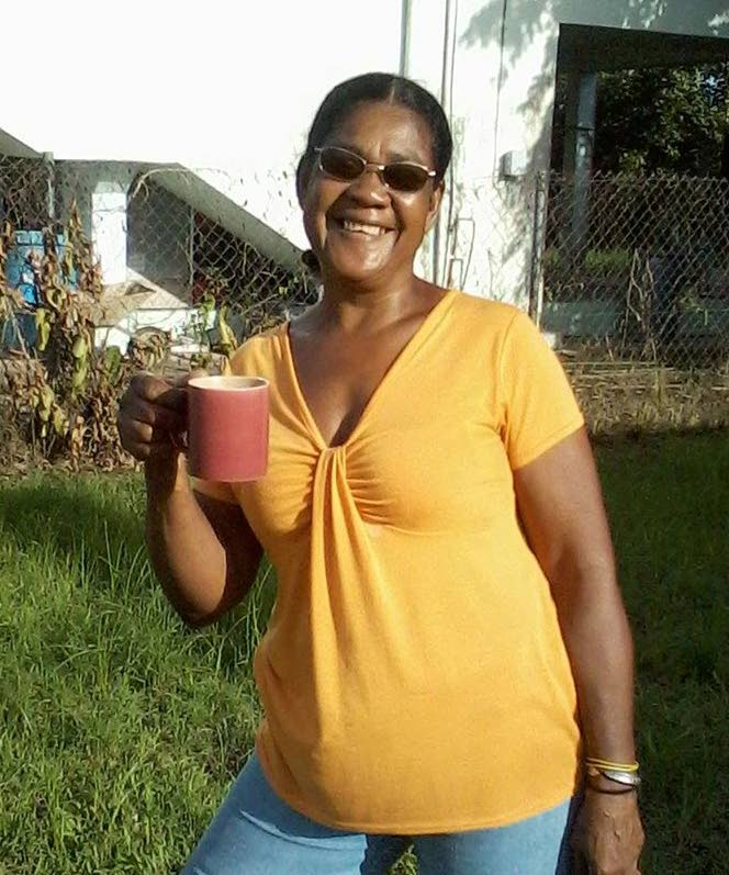 DEAD: South Trinidad resident Melan June Salvary-Doyle, the first Trini killed as a direct result of Hurricane Irma. She died when the storm lash St Martin where she was visiting relatives last week.