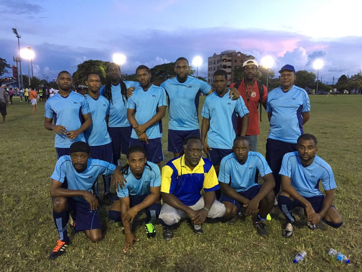Knock-out champions St James Division.