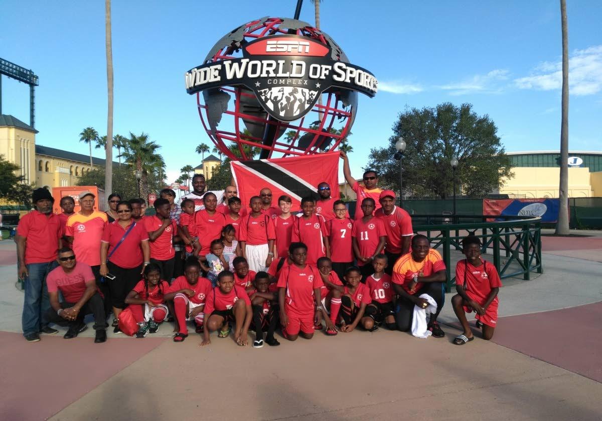 San Fernando Sports Academy at the Disney Pre-Season Football Kick off Football Tournament at the ESPN Wide World of Sports Complex in Orlando, Florida, USA.