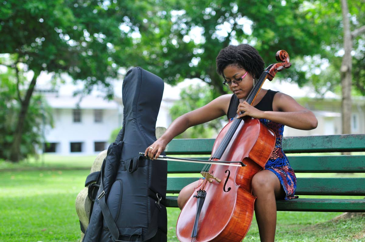 Cellist Tracell Frederick beat out 205 applicants to earn a space to perform with the Seoul International Community Orchestra in South Korea.