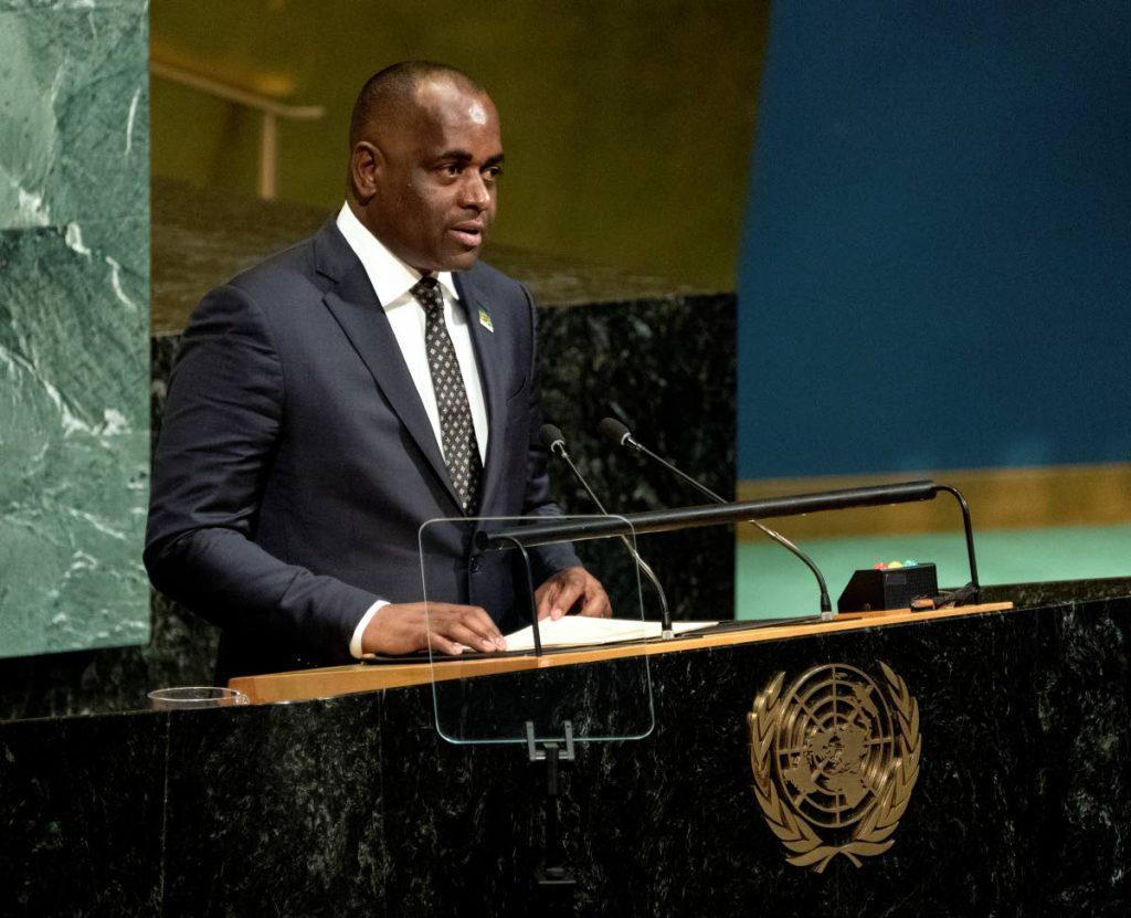 Prime Minister of Dominica Roosevelt Skerrit