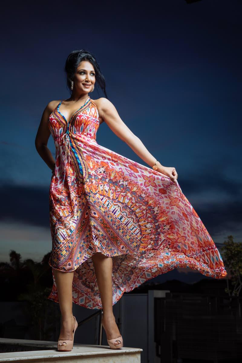 Model showcasing the House of Jaipur.