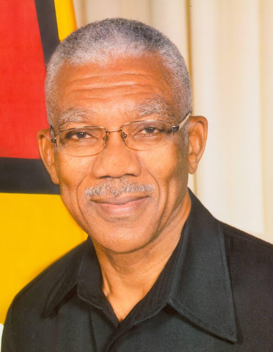 Guyana President David Granger