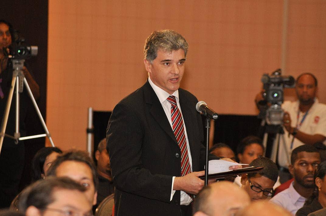 Energy Chamber president Dr Thackwray Driver.