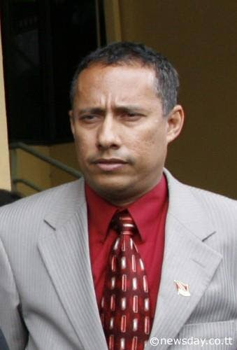 Former National Security Minister Gary Griffith.