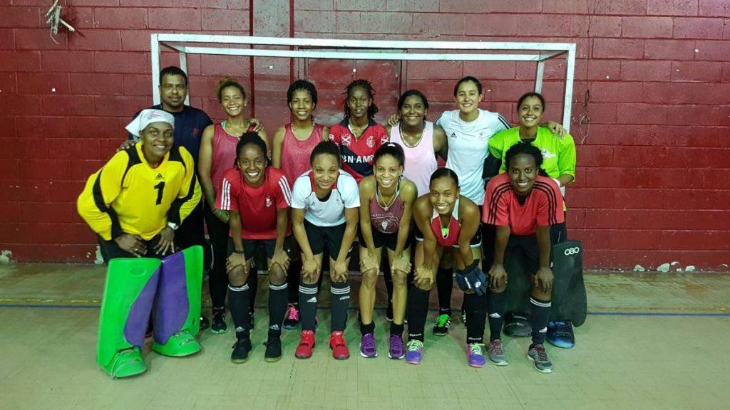 Members of the Trinidad and Tobago women's hockey team. PHOTO COURTESY TT HOCKEY BOARD.