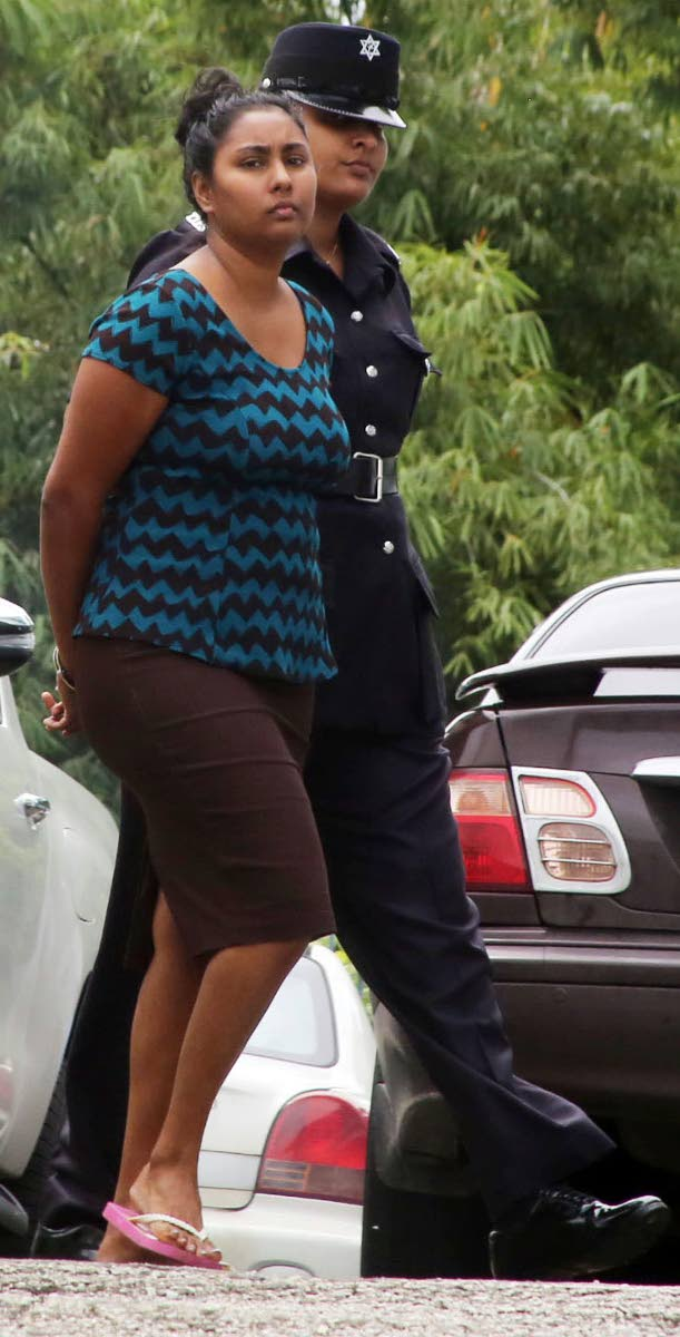 MURDER ACCUSED WIFE: Sharmellia Garcia, 28, of Rio Claro. Charged with the September 27 murder of her her husband, Larry Garcia, 31.
