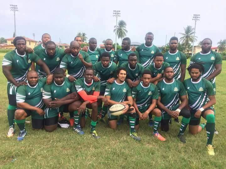The Harvard Rugby team that won the TT Rugby Football Union league final.
