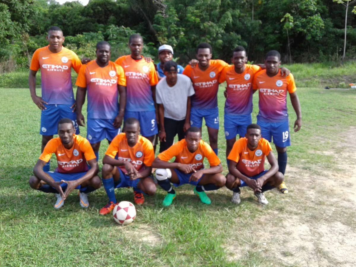 MARCHING TO THE FINAL: Boys Town defeated Manzan FC 2-1 on Sunday to book their spot in Saturday's final of the Caribbean Welders Fishing Pond Football League.