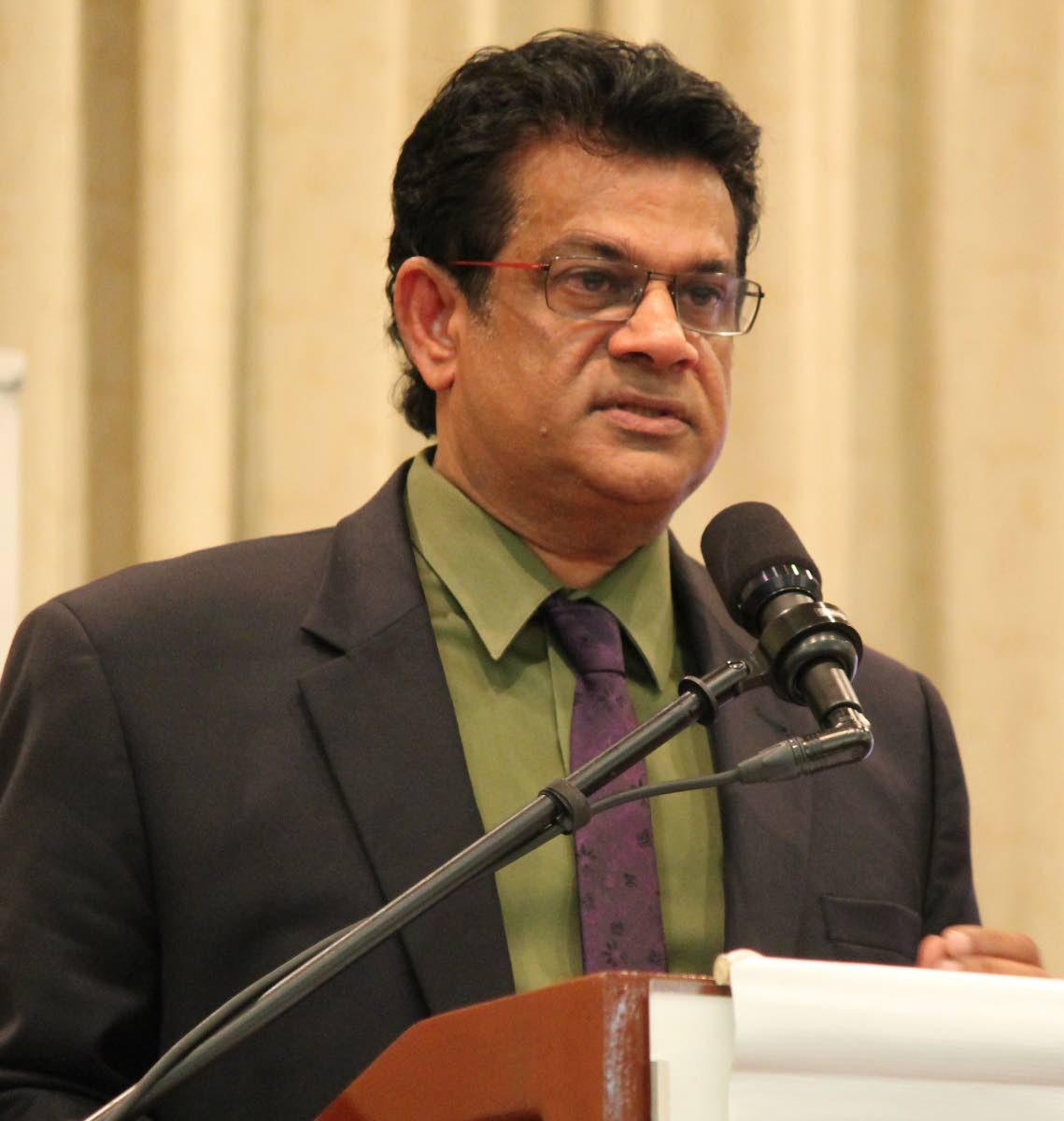 San Juan/Barataria MP Dr Fuad Khan.