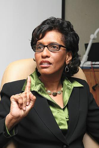 Former finance minister Karen Nunez-Tesheira.