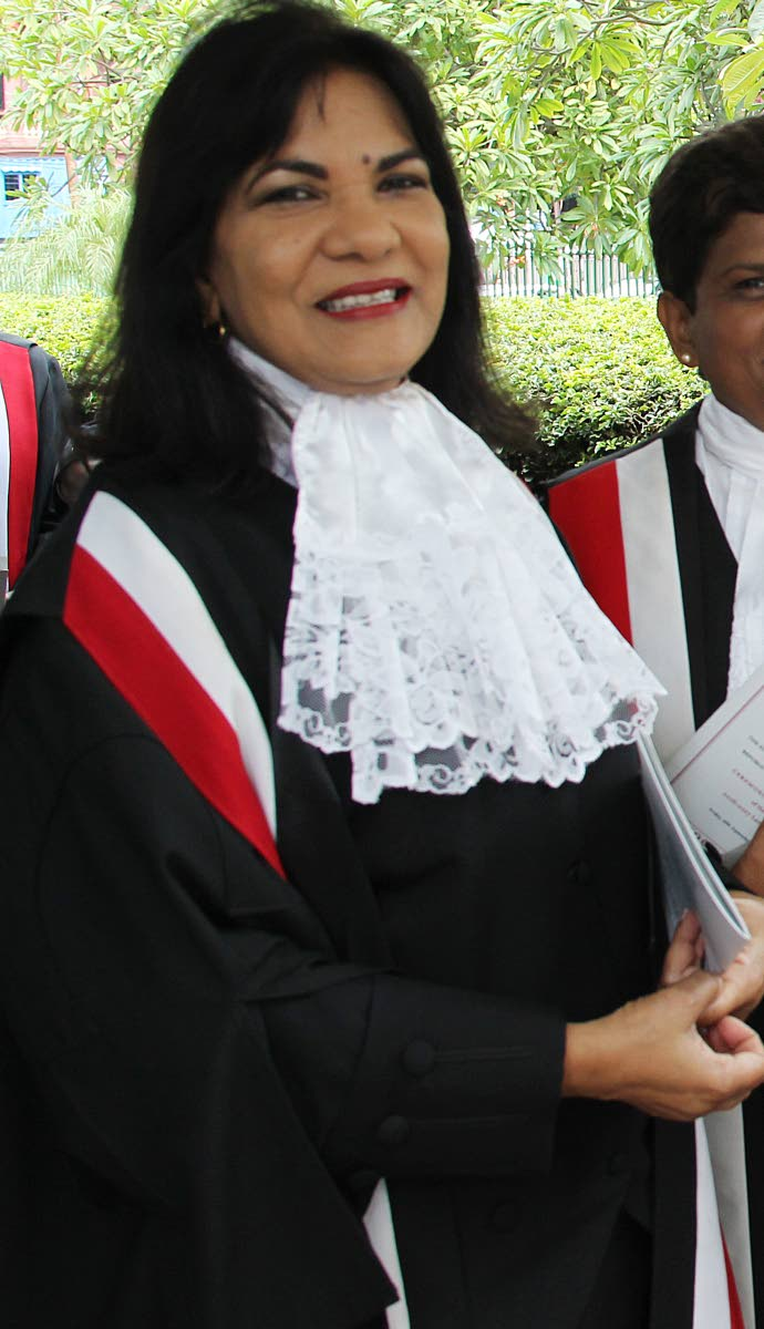 Justice Carol Gobin.