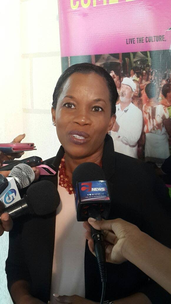 Dr Sherma Roberts, Chairman of the Tobago Tourism Agency.