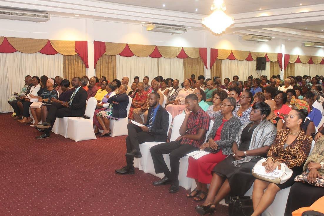 A cross-section of participants at the opening of the Moravian Women's Conference at the Rovanel's Resort last Wednesday.