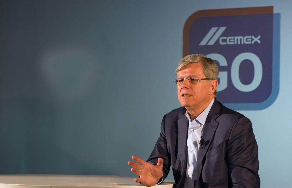 CEO of CEMEX, Fernando A Gonzalez. PHOTO COURTESY CEMEX