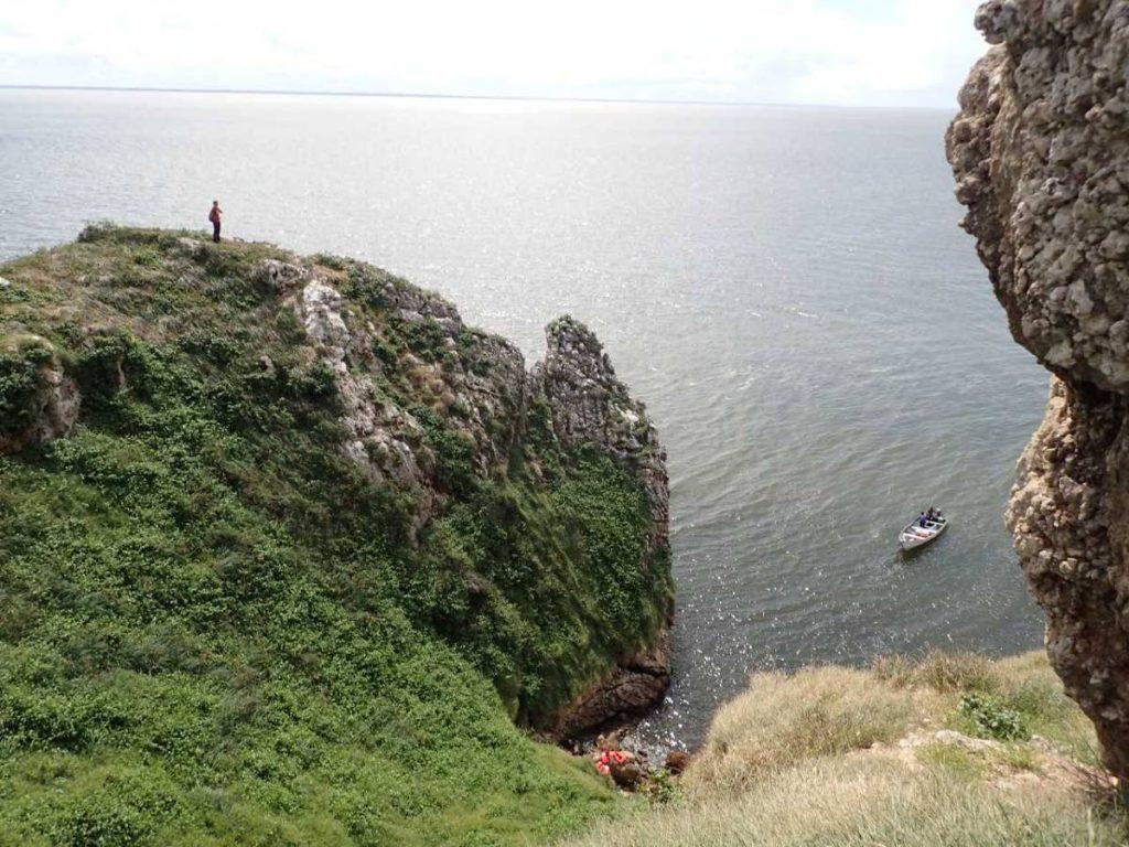 Soldado Rock, a wildlife sanctuary, lies just off the coast of Icacos.