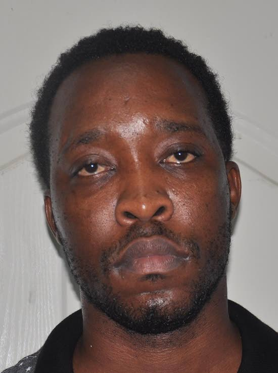 CHARGED: Quincy Noel, charged for the murder of Prison Officer Richard Sandy.