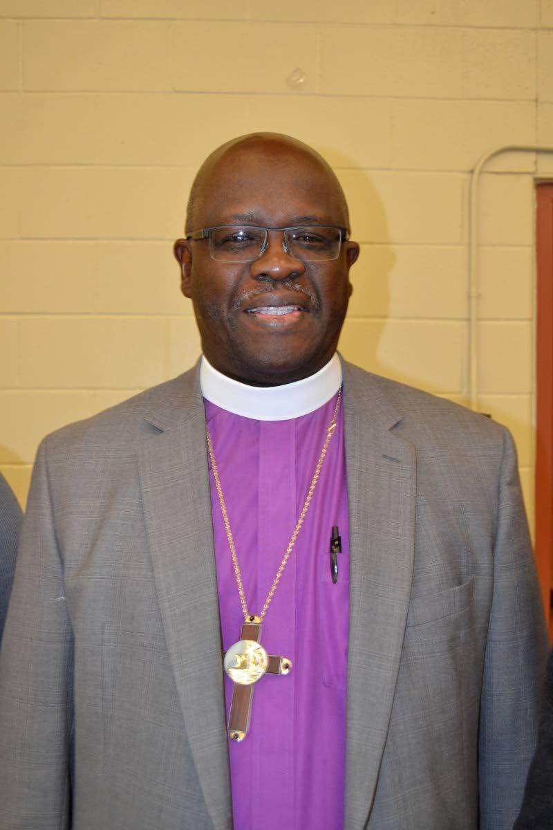 Anglican Bishop Claude Berkley. FILE PHOTO