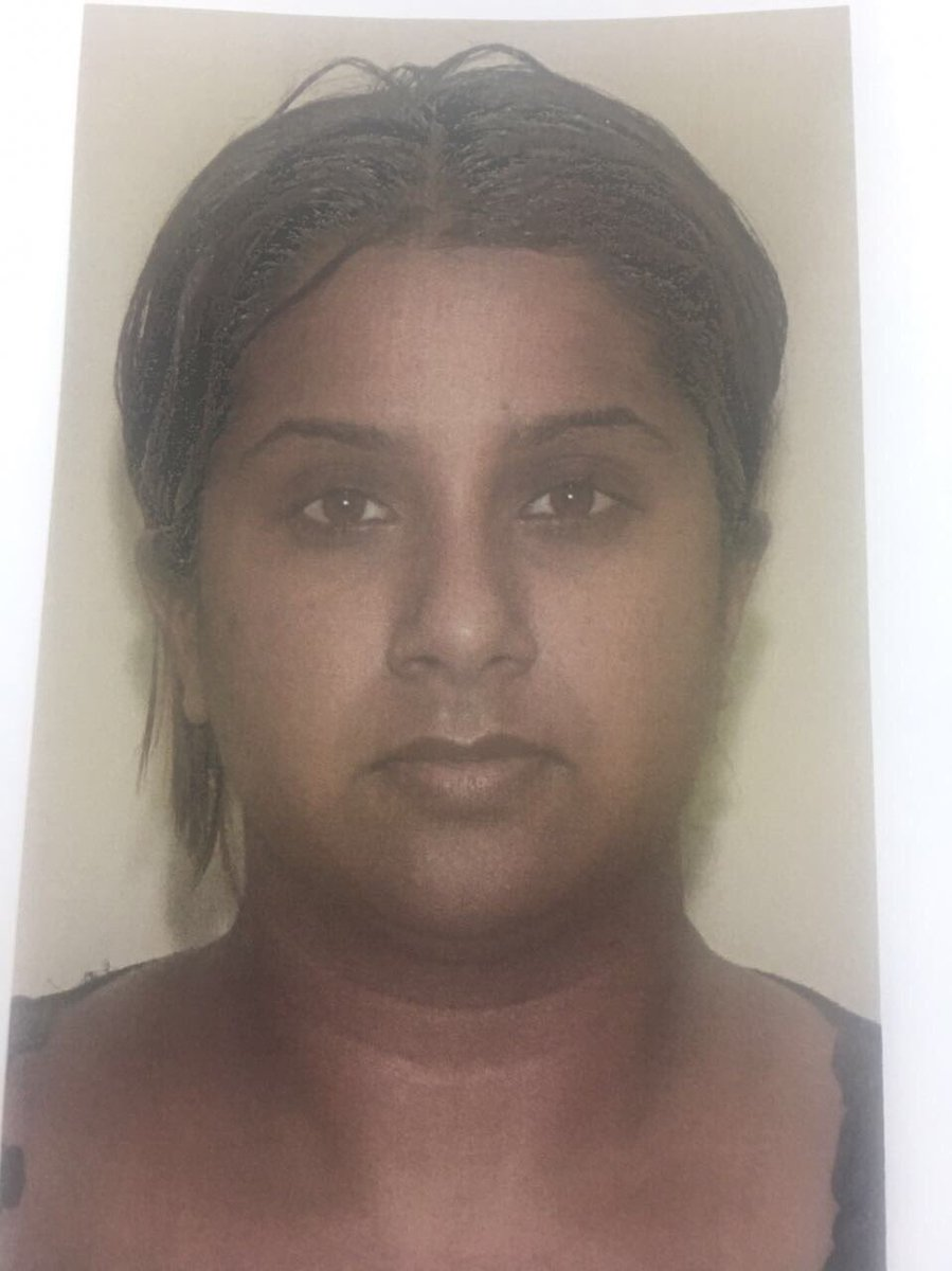 Fugitive Vicky Boodram was captured in Penal on Thursday night.