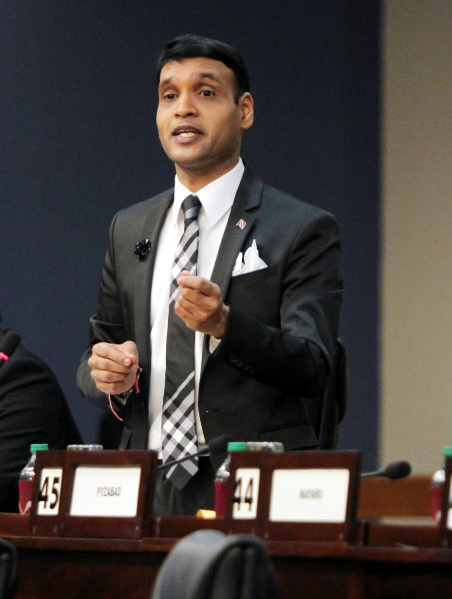 Princes Town MP Barry Padarath.