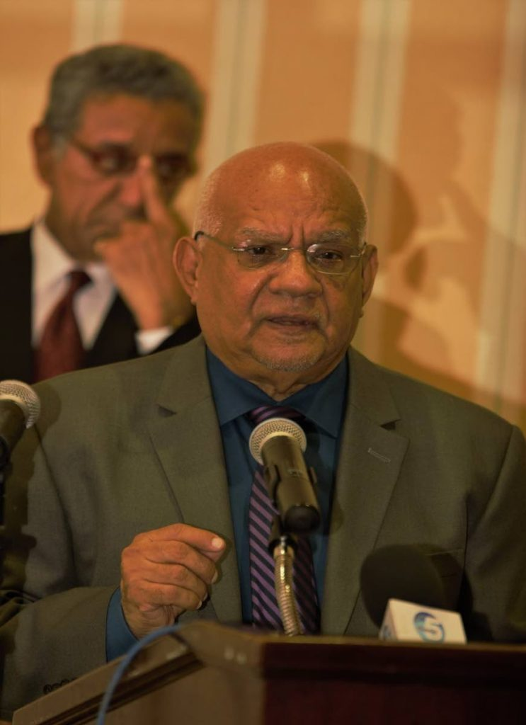 Jerry Hospedales, Chairman of the Trinidad and Tobago Tourism Business Development Limited, speaks at the relaunch of the Tobago Tourism Development Fund on Wednesday at the Magdalena Grand Beach and Golf Resort in Lowlands.