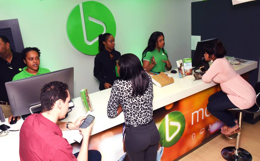 Another recently opened full service bmobile partner store, IESL Technologies Ltd, located in the  Government Campus Plaza in Port of Spain.