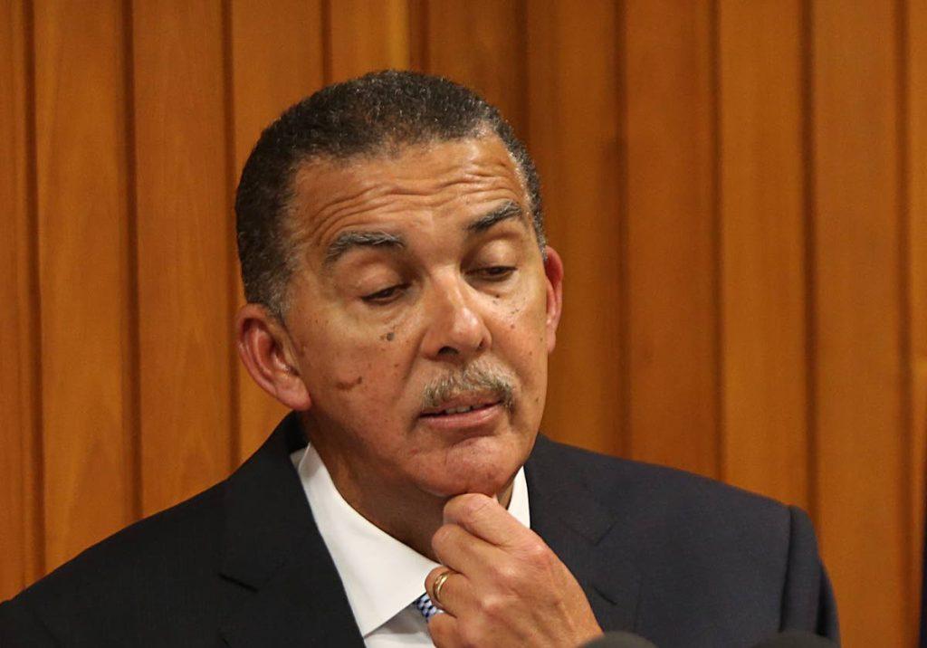Former president Anthony Carmona.