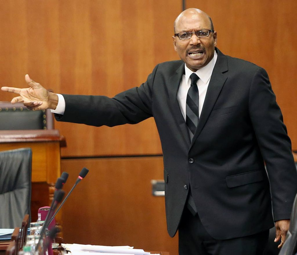 Opposition Senator Wade Mark.
