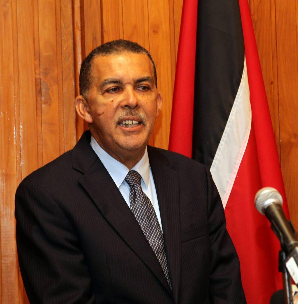 Former President Anthony Carmona