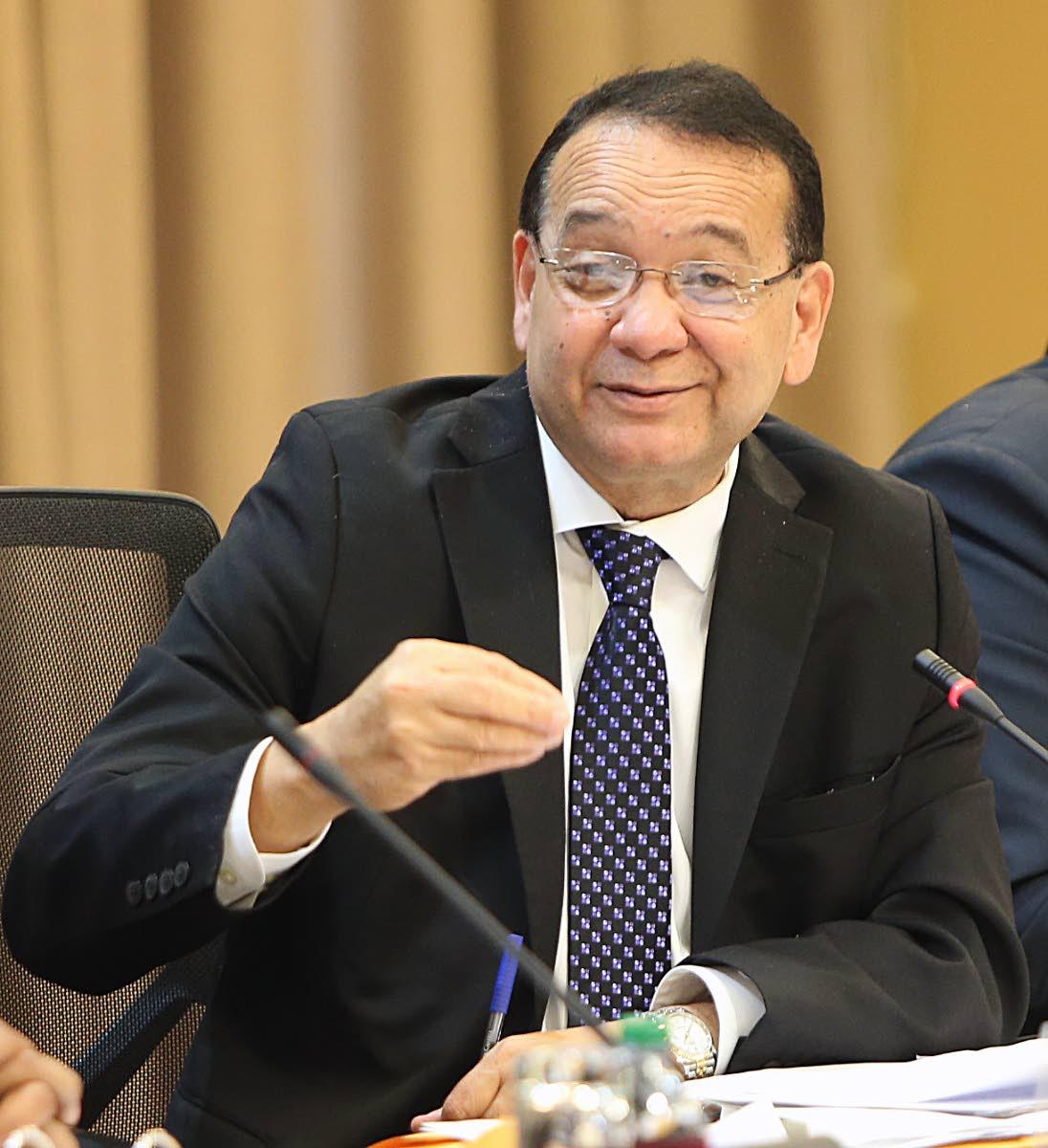 Energy Minister Franklin Khan