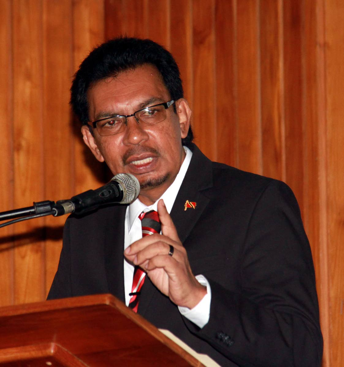 Local Government and Rural Development Minister Kazim Hosein