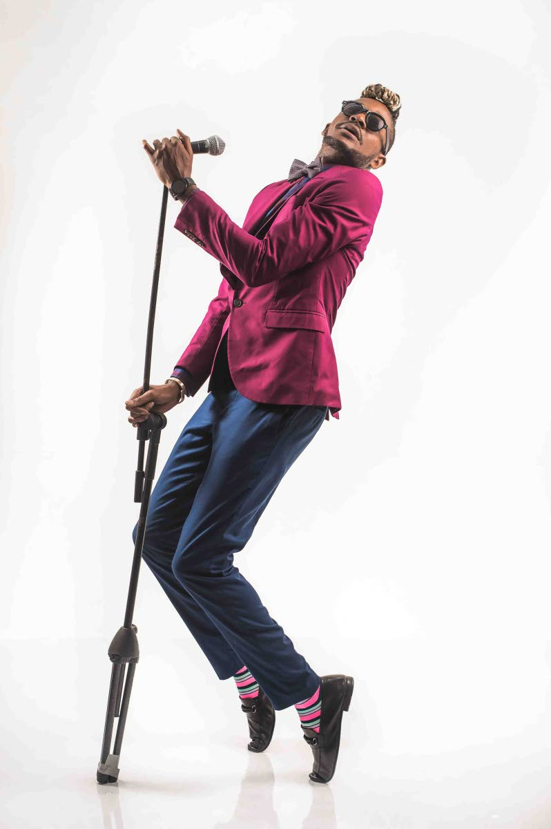 Ragtime swag: Olatunji channels the ragtime, jazz style of American singers in the 1900s in his rocking soca, Bodyline. Photos courtesy Olatunji Yearwood