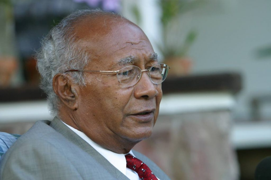 LOVED TOBAGO: Former president George Maxwell Richards had a special love for Tobago.