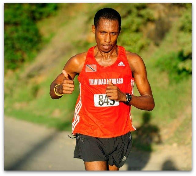Veteran road runner Curtis Cox